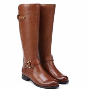 Naturalizer Joylynn Chestnut leather boots size 6